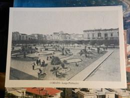 18598) BARI PROVINCIA CORATO LARGO PLEBISCITO NON VIAGGIATA SERIE CORATO D'ALTRI TEMPI - Bari