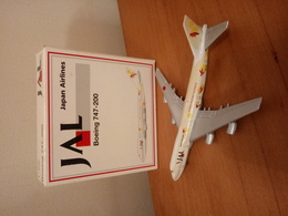 SCHABAK 1:600 JAL Super Resort Express - Boeing 747-200 (with Original Packing Box) - Made In Germany - Airplanes & Helicopters