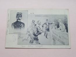 ESTERHAZY ( Esterhazy A Londres / Affaire Dreyfus ) Anno 1900 > Berchem Anvers ( Sternfeld / Zie Foto's ) ! - Hommes Politiques & Militaires