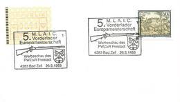 Österreich Austria 1993 Bad Zell Rifle Shooting Championship ATM Card - Tir (Armes)