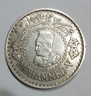 MAROCCO - 500 Francs - Mohammed V (1956) AG / SILVER - Marruecos