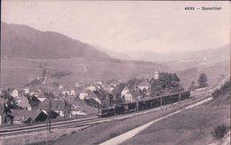 Sonvilier BE, Chemin De Fer Et Train à Vapeur (4633) - BE Berne