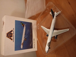 Herpa 1:500 Boeing 757-200 American Trans Air (with Original Packing Box) - Airplanes & Helicopters