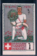 Basel, 56. Eidgen. Turnfest 1912 Par Von O. Baumberger, Litho (7.7.1912) - BS Bâle-Ville