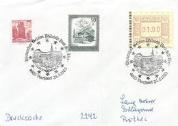 Österreich Austria 1983 Vorchdorf Europa Town ATM Cover - Europa-CEPT