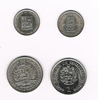 =&   VENEZUELA  2 X 25 CENTIMOS  1965/78 En 2 X 1 BOLIVAR 1967/90 - Venezuela