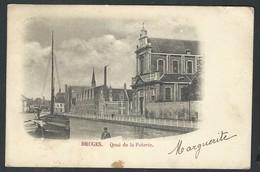 +++ CPA - BRUGGE  BRUGES - Quai De La Poterie  // - Brugge