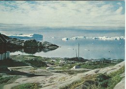 View Of Disko Bay At Jakobshavn  Greenland. B-3193 - Groenlandia