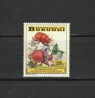 9] Timbre ** Stamp ** Burundi Insecte Insect Scarabée Beetle Bolbaffer Princeps IMPRESSOR - Insectes