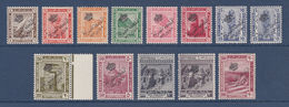 Egypt - 1922 - ( The Crown Overprint Issue ) - Complete Set - MNH** - Egypt