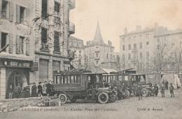 Annonay - Ardèche - Les Autobus Place Des Cordeliers - Annonay