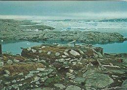 Dwelling-hut At The Sealing Ground, Umivik   Greenland. B-3196 - Groenlandia