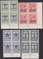 Papua 1935 Jubilee Sc 114-17 Mint Never Hinged - Papua New Guinea