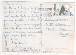 Beau Timbre , Stamp   Sur Cp , Carte , Postcard Du ?? Pour La France - Tchéquie