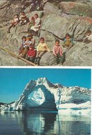 Greenland  4 Cards   B-3201 - Groenlandia