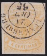 Luxembourg     .    Yvert    .     5    ( 2 Scans)      .     O     .        Oblitéré    .      /     .    Gebraucht - 1859-1880 Wappen & Heraldik