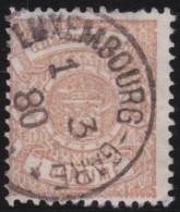 Luxembourg     .    Yvert    .    26        .     O     .        Oblitéré    .      /     .    Gebraucht - 1859-1880 Wappen & Heraldik