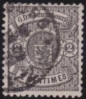 Luxembourg     .    Yvert    .    27        .     O     .        Oblitéré    .      /     .    Gebraucht - 1859-1880 Wappen & Heraldik