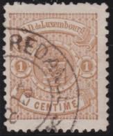 Luxembourg     .    Yvert    .  39A  .   Perf.  12 1/2        .     O     .        Oblitéré    .    /     .    Gebraucht - 1859-1880 Armoiries