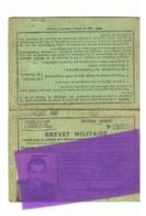 Brevet De Conduite Pour Véhiocules Militaires - Epoque Guerre D' Algérie 1958 (fr66) - Documents
