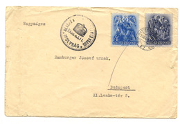 Hungary Slovakia Ipolysag (Šahy) Special Postmark On Letter Cover Travelled 1938 B180910 - Hungary
