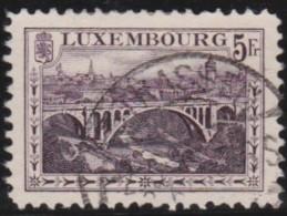 Luxembourg     .    Yvert    .    134          .     O     .        Oblitéré    .    /     .    Gebraucht - Gebruikt