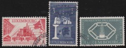 Luxembourg     .    Yvert    .     511/513       .     O     .        Oblitéré    .    /     .    Gebraucht - Used Stamps