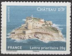 """N°713   Y.T.** Europa Visitez La France Châteaux Et Demeures Historiques '' Château D'If """" - France"""