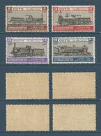 Egypt - 1933 - ( International Railroad Congress ) - Complete Set - MNH** - Egypt