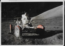 APOLLO 17 - VIAGGIATA DA AUSTIN 2002 FRANCOBOLLO ASPORTATO - Astronomia