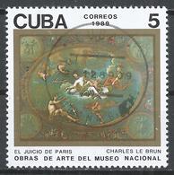 Cuba 1989. Scott #3175 (U) Painting In The Natl. Museum, The Judgement Of Paris, By Charles Le Brun (1619-90) * - Cuba
