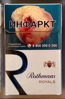 Empty Cigarettes Pack Russia #r67 - Etuis à Cigarettes Vides