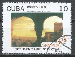 Cuba 1992. Scott #3410 (U) Granada 92 Philatelic Exhibition * - Cuba