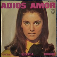 SHEILA - Adios Amor - Disque 45 T. - Disco & Pop