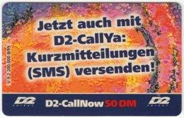 GERMANY Prepaid B-404 - D2 - Used - Deutschland