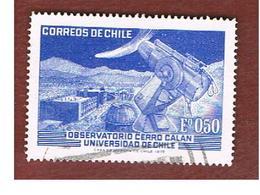 CILE (CHILE)  - SG 698 -  1972  CERRO CALAN OBSERVATORY   -  USED ° - Cile
