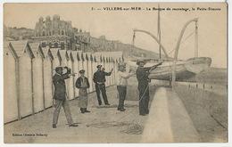 51 Villers Sur Mer . La Barque De Sauvetage , La Petite Simone Lifeboat Edit Dubourg - Villers Sur Mer