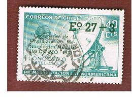 CILE (CHILE)  - SG 713    -  1973 OVERPRINTED IMO-W-MO  -  USED ° - Cile