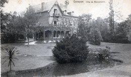 RARE GENAPPE VILLA DU BOURGMESTRE CIRCULEE 1934 - Genappe