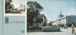 """BULGARIE---carte Maxima  Postcart--SOFIA---la Place """" Le 9 Septembre """"--voir 2 Scans - Bulgarie"""