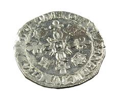 Douzain Aux Croissants - Henri II -  France - 1549 P - Dijon  -  Billon - TB+ - - 1547-1559 Henri II