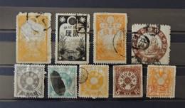 Japon - Old Revenue Stamps  // Lot 1 - Japan