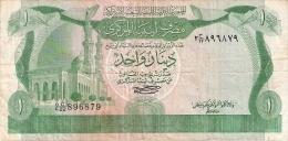 LIBYE   1 Dinar   ND (1981)   P. 44a   Sign.1 - Libya