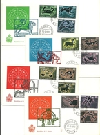 1970 - San Marino 794/805 Zodiaco - FDC - Astrologia