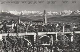 BERN Und Die Alpen. Verlag A. Boss & Co. N° B.511. - BE Berne