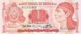 HONDURAS   1 Lempira   10/9/1992   P. 71   UNC - Honduras