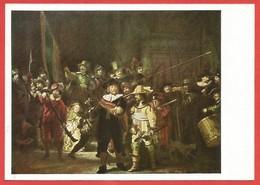 Die Nachtwache, Rembrandt, Rijksmuseum Amsterdam - Peintures & Tableaux