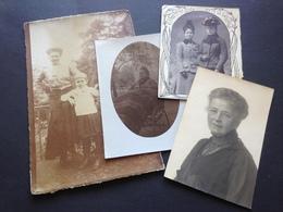 DAMEN VON ADEL - 4 FOTOS - Identifizierten Personen