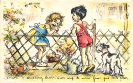 GERMAINE BOURET EDITION MD  N°1207  VOISINE SI VOUS AVEZ BESOIN D'UN COUP DE MAIN FAUT PAS VOUS GENER - Bouret, Germaine