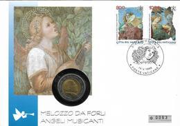 1998 Vatikan  Numisbrief 200  Lire    Melozzo De Foril - Vaticano (Ciudad Del)